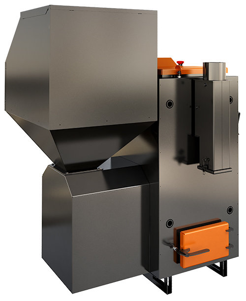 ECO specialized pellet heating boiler; 25, 40 kW