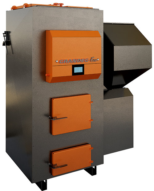 ECO specialized pellet heating boiler; 70, 100 kW