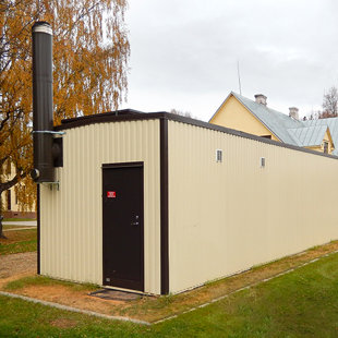 Container-type boiler houses